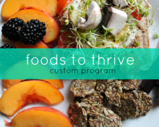 Foods to thrive
